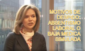 ABSENTISMO LABORAL O BAJA MEDICA SIMULADA